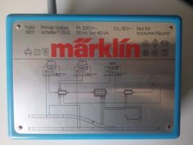 Märklin 6611 40 VA Licht Transformator